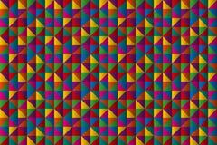 Abstrakt mini- triangelbakgrund, geometriska triangulära symboler Royaltyfri Fotografi