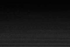 Abstrakt minimalistic svart gjorde randig bakgrund med horisontallinjer och titelraden kopiera avstånd Royaltyfri Fotografi