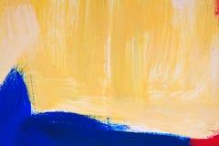 Abstrakt målning texturerar Arkivbilder
