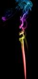 Abstrakt mångfärgad rök Royaltyfria Bilder