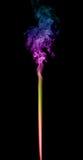 Abstrakt mångfärgad rök Royaltyfri Fotografi