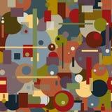 abstrakt modell Arkivbild