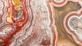 Abstrakt modell av agatstenen Royaltyfri Foto