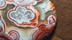Abstrakt modell av agatstenen Fotografering för Bildbyråer