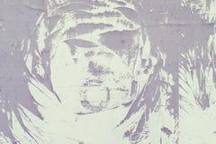 Abstrakt modell av damm, på en grå vägg Tom bakgrund, textur Arkivfoton