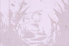 Abstrakt modell av damm, på en lila vägg Tom bakgrund, textur Arkivbild