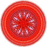 Abstrakt modell av rött och färgstänk av målarfärg Royaltyfria Bilder