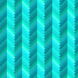 Abstrakt modell för blått 3D, vektor Arkivfoton