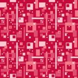 Abstrakt modell i röd färg Arkivfoton