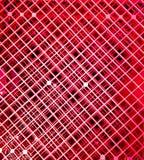 Abstrakt modellbakgrund för röd fyrkant Arkivbilder