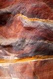 abstrakt modellpetra-sandsten Royaltyfria Bilder