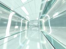 Abstrakt modern arkitekturbakgrund framförande 3d Arkivfoto