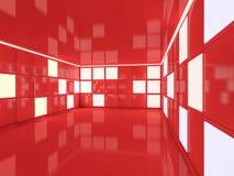 Abstrakt modern arkitekturbakgrund framförande 3d Royaltyfri Fotografi