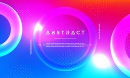 Abstrakt modern bakgrund för vektor 3D vektor illustrationer