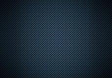 Abstrakt modern blå perforerad textur för metallplatta Arkivfoto