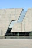 Abstrakt modern byggnad royaltyfri bild