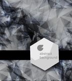 Abstrakt modern etikett eller bubbla med bakgrund Royaltyfri Bild