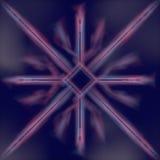 Abstrakt modern futuristisk tolkning för trådbakgrund 3d Royaltyfri Bild
