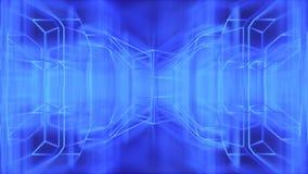Abstrakt modern futuristisk tolkning för trådbakgrund 3d Royaltyfria Bilder