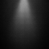 Abstrakt modern grå perforerad textur för metallplatta Arkivbild