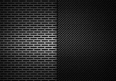 Abstrakt modern grå perforerad textur för metallplatta Royaltyfria Foton