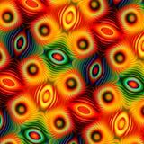 Abstrakt modern illustrationdesign färgrik bakgrund Modellen kan vara den använda trycktapeten Dator skapad bild former vektor illustrationer