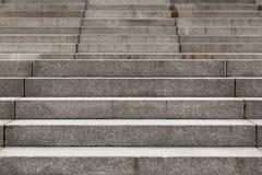Abstrakt modern konkret trappa Fotografering för Bildbyråer