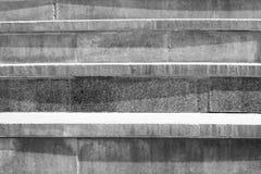 Abstrakt modern konkret trappa till byggande - trappasammansättning Fotografering för Bildbyråer
