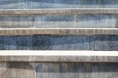Abstrakt modern konkret trappa till byggande - trappasammansättning Royaltyfria Foton