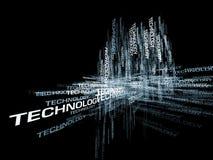 abstrakt modern teknologi Arkivbild