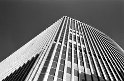 abstrakt modernt byggnadshörn royaltyfri foto