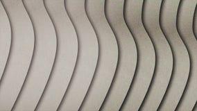 Abstrakt, monochrom, beżowe piasek fale wykręca się wolno Hipnotyzujący, monochromu piaska fal krzywa zbiory