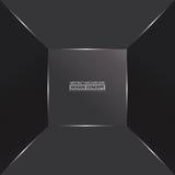 Abstrakt monochromatic grå färg ytbehandlar djupgående Royaltyfri Fotografi