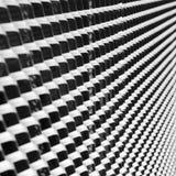 Abstrakt monokrom bild av järnensemblen Arkivfoto