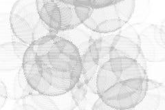 Abstrakt monokrom rastrerad geometrisk modell Fläckar och färgstänk royaltyfri illustrationer