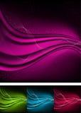 abstrakt morgonrodnadbakgrunder Arkivfoto