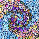 abstrakt mosaik Arkivbilder