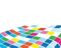 abstrakt mosaik vektor illustrationer
