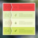 Abstrakt mosaikbakgrund för vektor. Infographic mall med plommoner Vektor Illustrationer