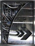 abstrakt motordelar Royaltyfria Foton
