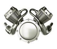 Abstrakt motormotor Arkivfoton