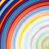 abstrakt multicolor bakgrundsvirvel Royaltyfri Bild