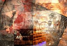 abstrakt munterhet Arkivbild