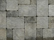 Abstrakt murverk för stenvägg Royaltyfri Fotografi