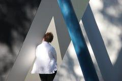 abstrakt museum för byggnad 2 Royaltyfri Fotografi