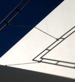 abstrakt museum för byggnad 4 Arkivbild