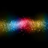 abstrakt musikanmärkningar Fotografering för Bildbyråer