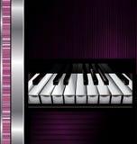 Abstrakt musikbakgrund Fotografering för Bildbyråer