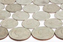 Abstrakt mynt Fotografering för Bildbyråer