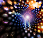 abstrakt myrakeyholeavstånd Arkivbild
